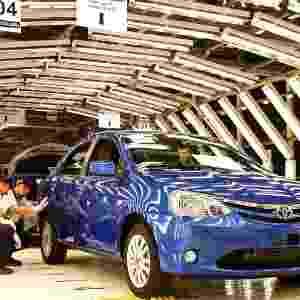 O primeiro carro a sair da fábrica de Sorocaba (SP) foi doado à Associação Bom Pastor, entidade que auxilia pessoas carentes da região - Reuters