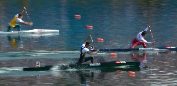Em sua primeira Olimpíada, Ronilson Oliveira em quarto na final B, que definia dos nono ao 16º lugares