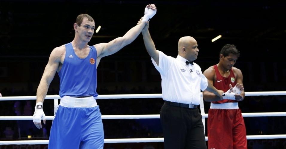 Russo Egor Mekhontcev é declarado vencedor no combate contra o brasileiro Yamaguchi Falcão