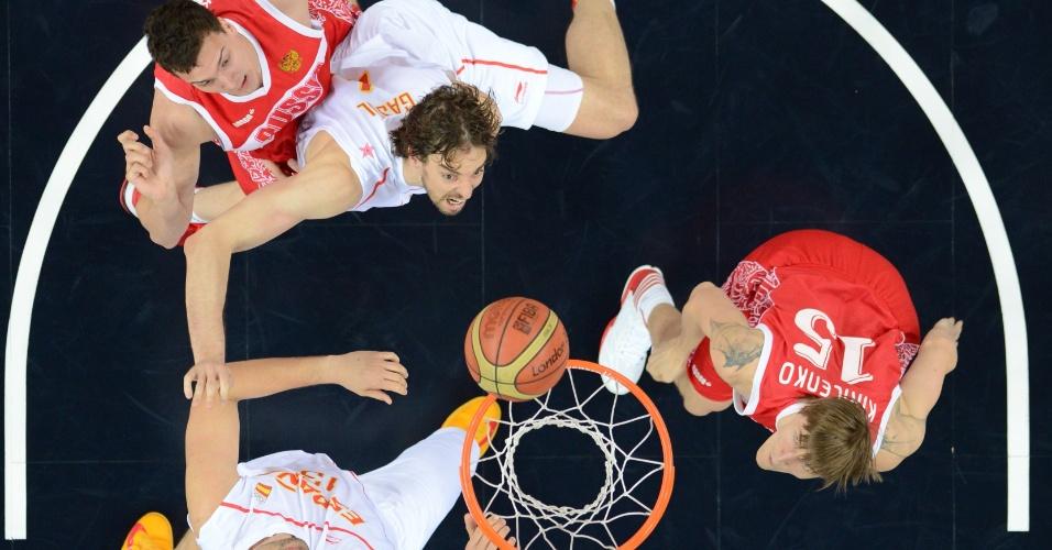 Russos e espanhóis disputam rebote na semifinal das Olimpíadas de Londres