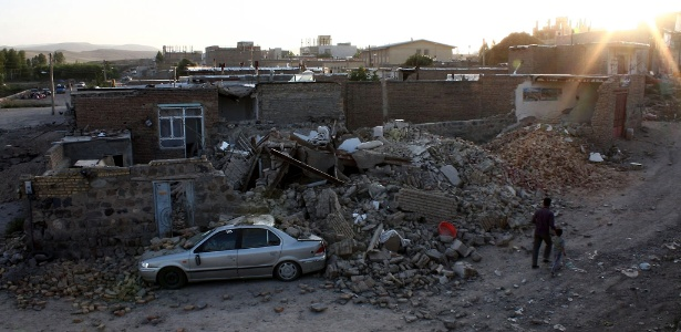 Em 2012, dois terremotos fora registrados no Irã e deixaram 180 mortos e 1.300 feridos