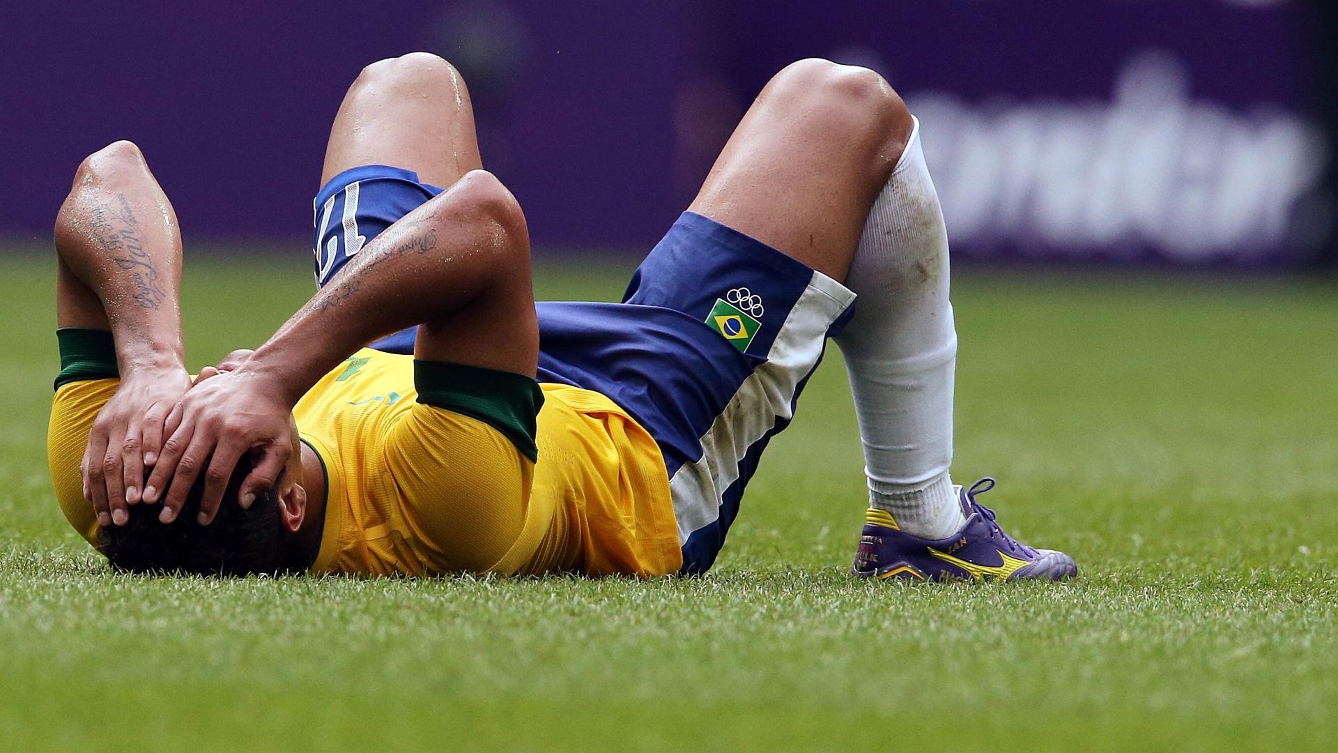 Hulk lamenta derrota brasileira para o México na decisão dos Jogos Olímpicos