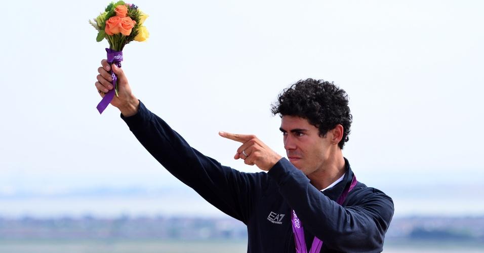 Marco Aurelio Fontana, italiano medalhista de bronze no ciclismo cross-country em Londres