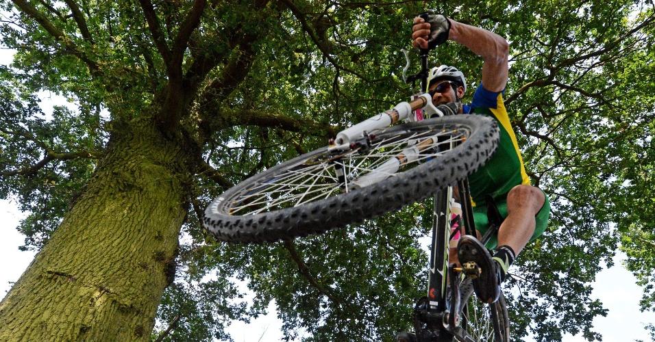 Rubens Donizete compete no mountain bike dos Jogos Olímpicos