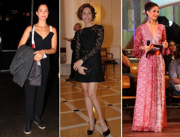 A atriz Camila Pitanga tem estilo marcado por peças clássicas e na moda - Agnews