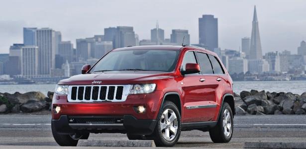 Jeep Grand Cherokee: nos EUA é carro de classe média baixa; no Brasil, só o bacana tem... - Divulgação