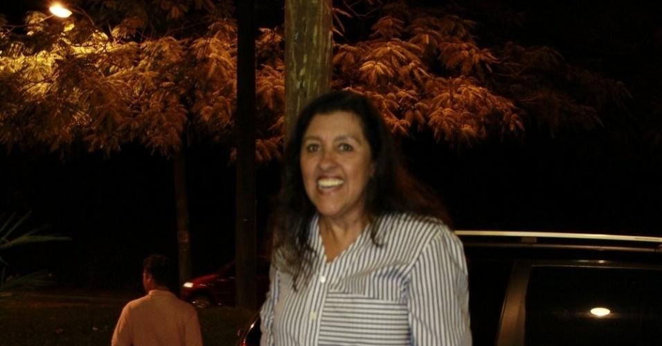 Regina Casé prestigiou a festa de cinco anos de José, filho de Carolina Dieckmann (13/8/12)