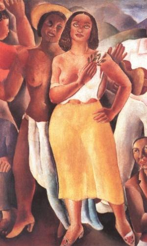 """14.ago.2012 - O óleo """"Samba"""" (1925), de Emiliano Di Cavalcanti, faz parte da coleção do marchand Jean Boghici. Nesta segunda-feira (13), um incêndio atingiu o apartamento de Jean e pode ter destruído esta e outras obras"""