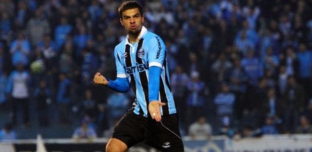 André Lima tem boa média de gols pelo Grêmio no Brasileirão (arquivo)