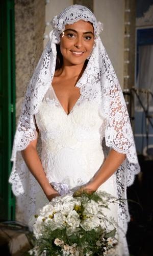 Casamento de Gabriela (Juliana Paes) em