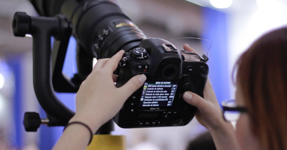 Câmera digital Nikon D4