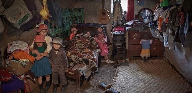 Imagem do fotógrafo argentino Andy Goldstein e que faz parte de sua série Vivir en la Tierra - Andy Goldstein