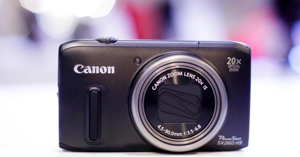 PowerShot SX260 HS, da Canon