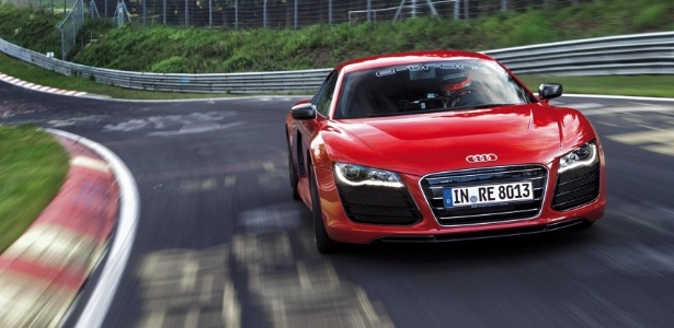 Com 8min09s99, Audi R8 e-tron é o carro totalmente elétrico mais rápido de Nürburgring  - Divulgação
