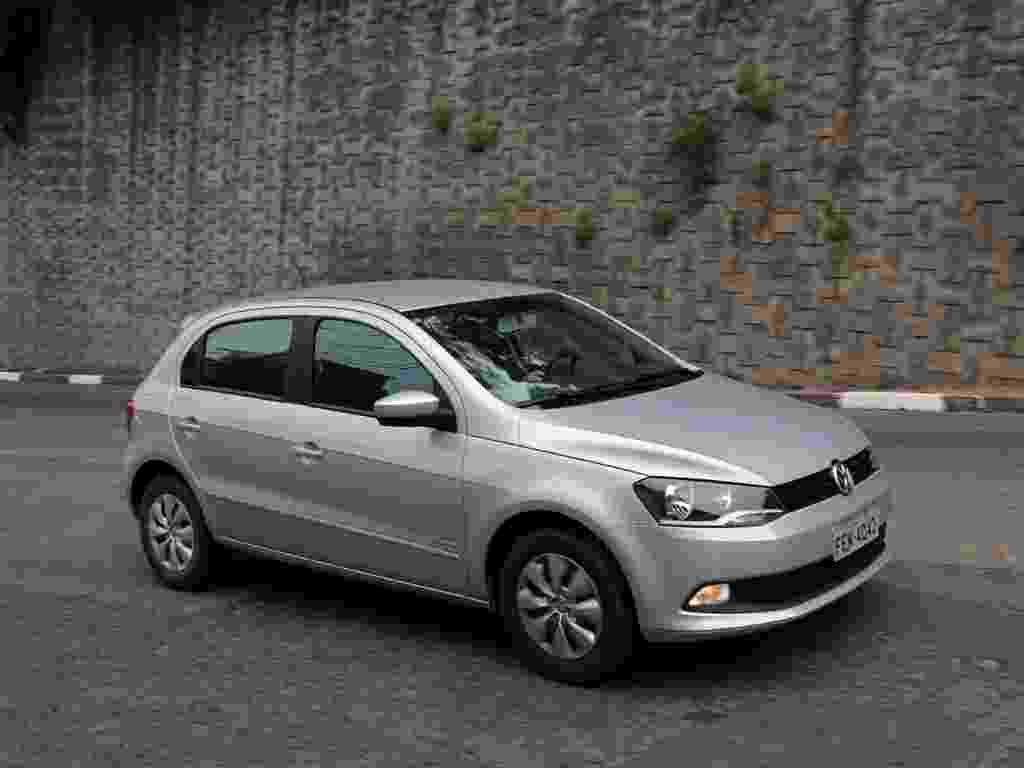 Volkswagen Gol 1.0 Bluemotion é versão inicial do novo Gol com pacote de economia de combustível - Murilo Góes/UOL