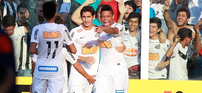 Geração de Neymar, Ganso e André rendeu muito dinheiro ao Santos. Onde foi parar? - Robson Ventura/Folhapress