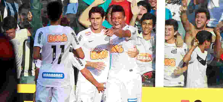 Santos ganhou