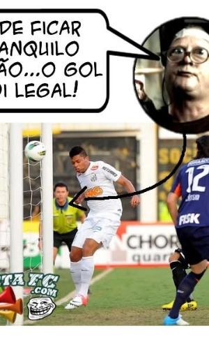 Corneta FC: Podem ficar tranquilos, o gol foi legal e...OH WAIT