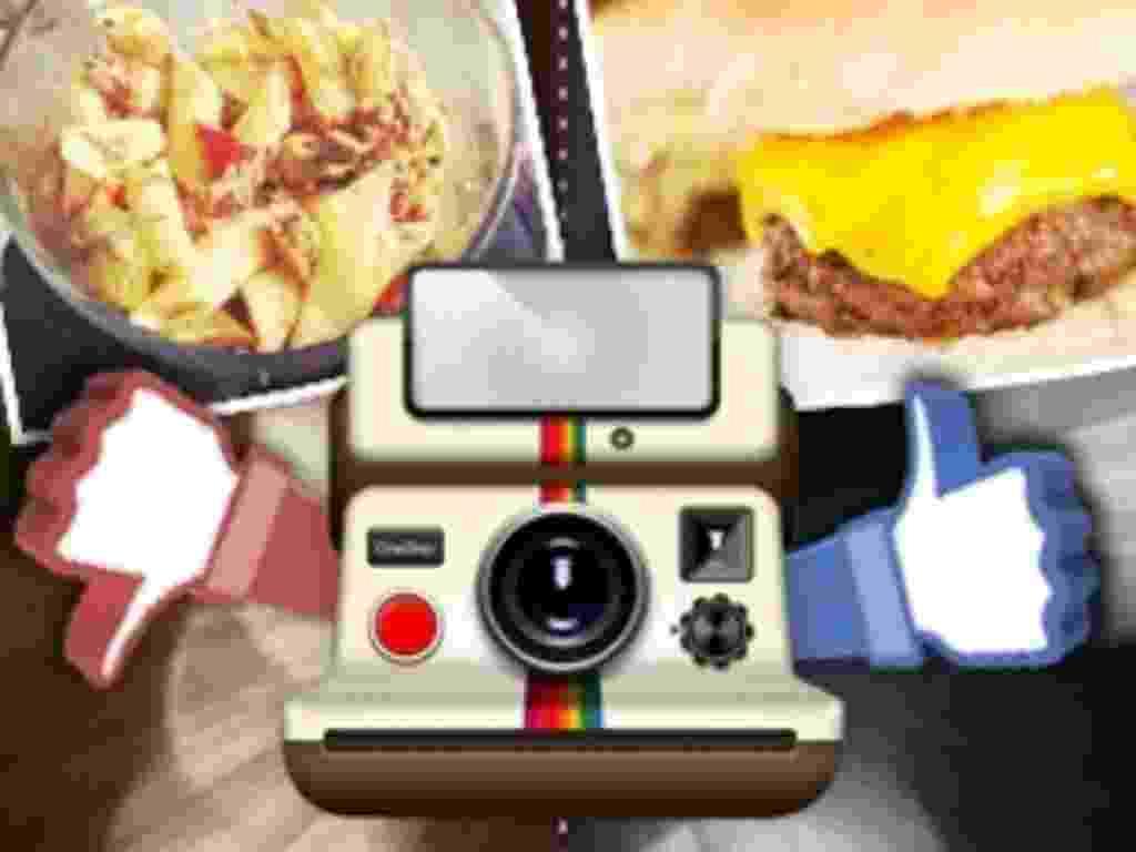 Dicas de fotógrafos para imagens de comida em redes sociais (Instagram) - Arte/UOL