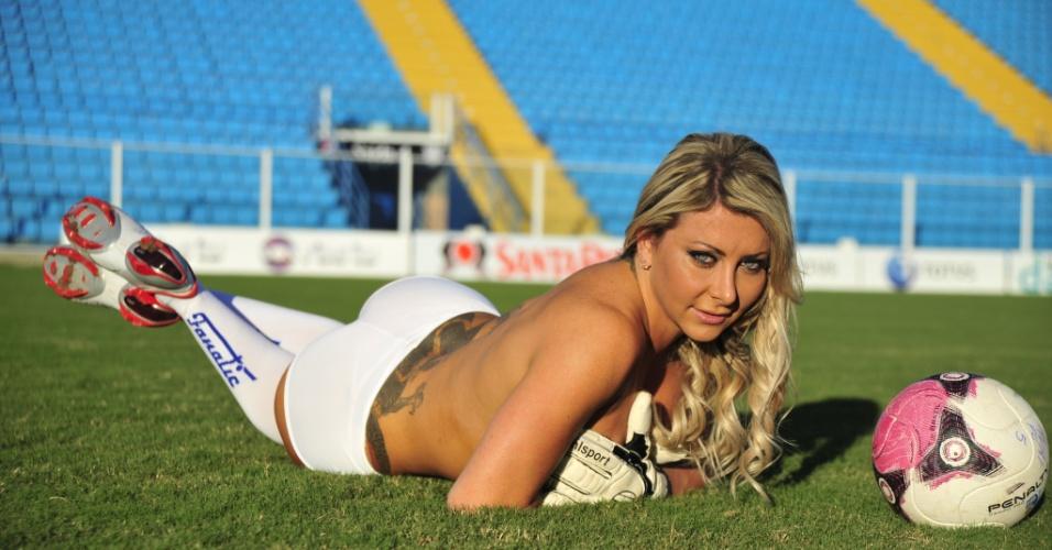 Luciane Hoopers, a bela do Avaí