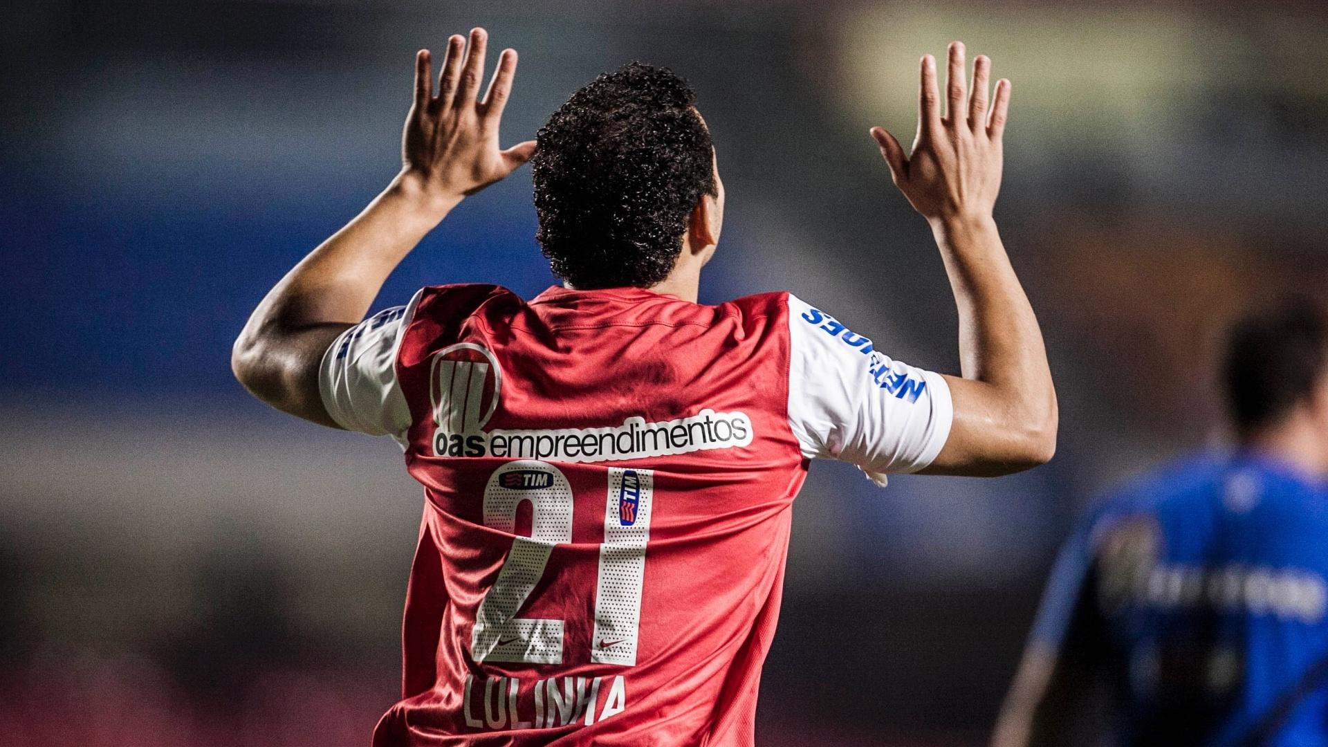 Lulinha foi escalado como titular para enfrentar o São Paulo no jogo de volta da Copa Sul-Americana