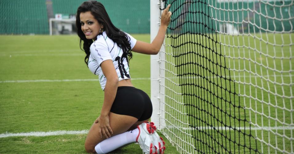 Rafaela da Silva, a bela do Figueirense