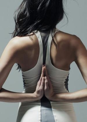 A princípio o projeto foi criado para o pilates, mas a designer pretende expandir para outros esportes - Divulgação
