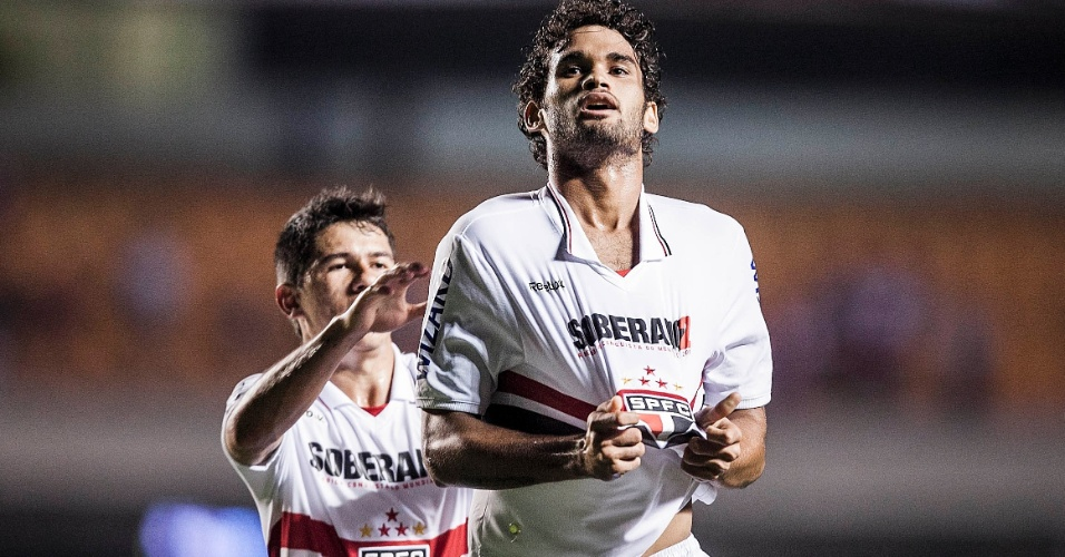 Willian José abriu o placar para o São Paulo contra o Bahia no Morumbi