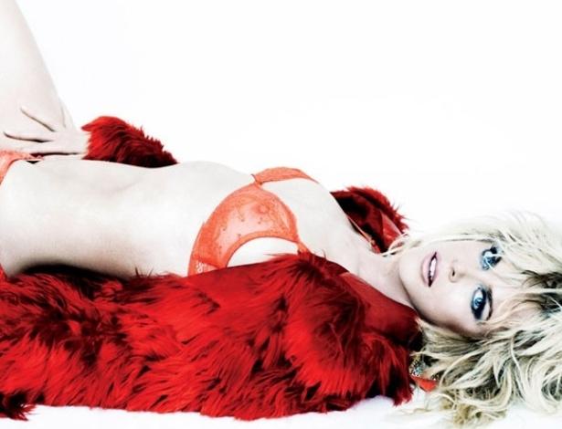 """Aos 45 anos, a atriz Nicole Kidman foi fotografada por Mario Testino para a revista """"V"""" (22/8/2012)"""