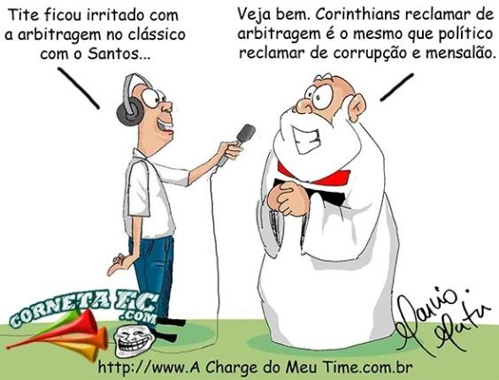 Corneta FC: São Paulo diz o que acha sobre reclamações de Tite