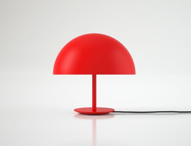Luminária Dome, de 2007, assinada por Todd Bracher e produzida pela dinamarquesa Mater - Divulgação