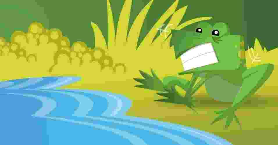Sapo com Medo de Água, história do folclore - Doki/UOL