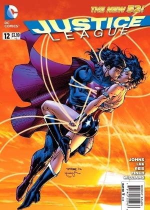 Superman e Mulher Maravilha em capa de novo quadrinho da DC - Divulgação