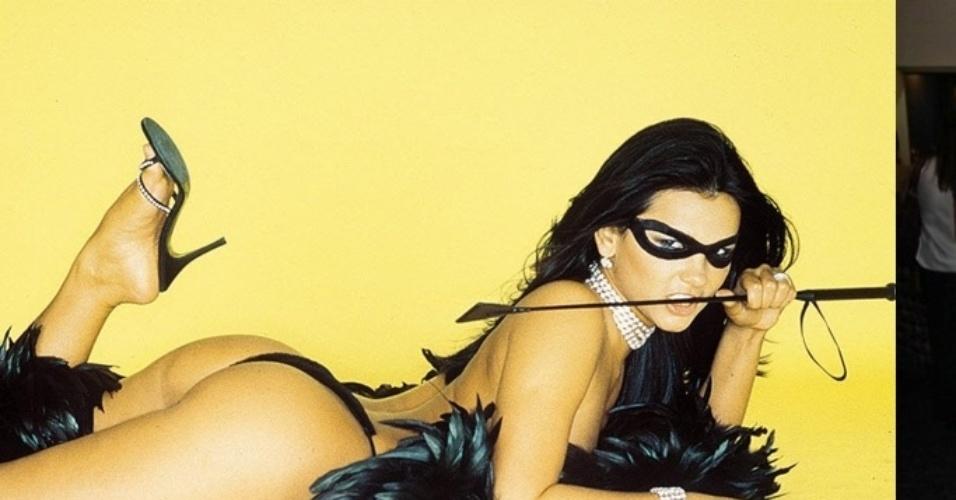 """Suzana Alves ganhou fama com a personagem Tiazinha, do Programa """"H"""", mas não emplacou a posterior carreira de cantora e atriz e se distanciou da mídia"""