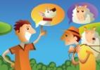 Três ladrões de ovelha: Mentira repetida vira verdade - Doki/UOL