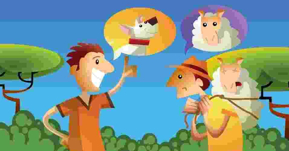 Três ladrões de ovelha, história do folclore - Doki/UOL