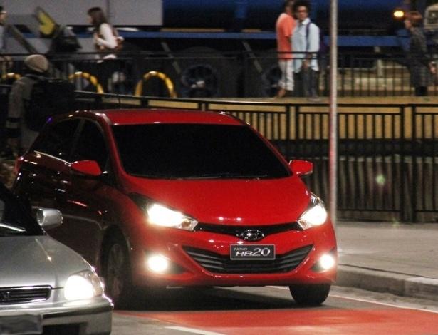 Hyundai HB20 flagrado em São Paulo: carro ajuda a fazer de setembro um mês histórico - Letícia Lovo/UOL
