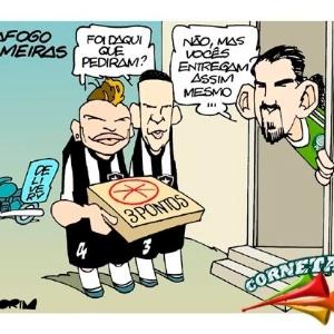 Corneta FC: Até quando ganha, o Botafogo perde do Palmeiras