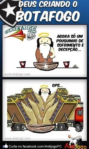 Corneta FC: E Deus criou o Botafogo...