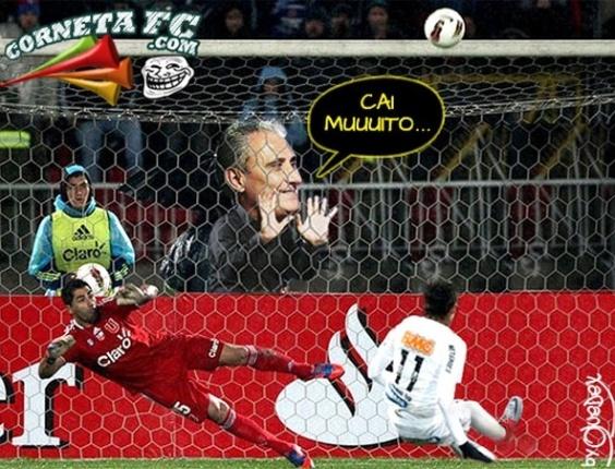 Corneta FC: Tite, e o Neymar cobrando pênalti?
