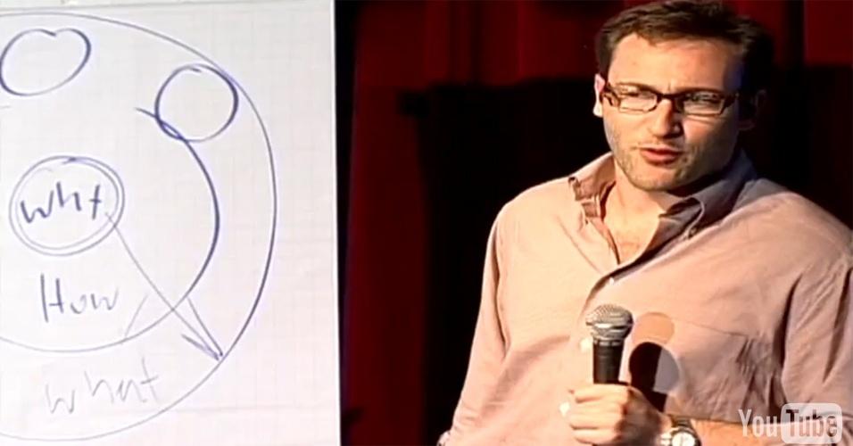 """8º lugar: A aula """"Como grandes líderes inspiram"""", por Simon Sinek"""