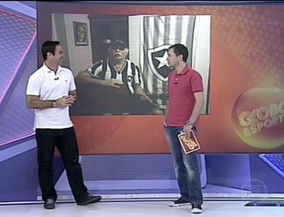 Tiago Leifert e Caio Ribeiro comentam episódio do