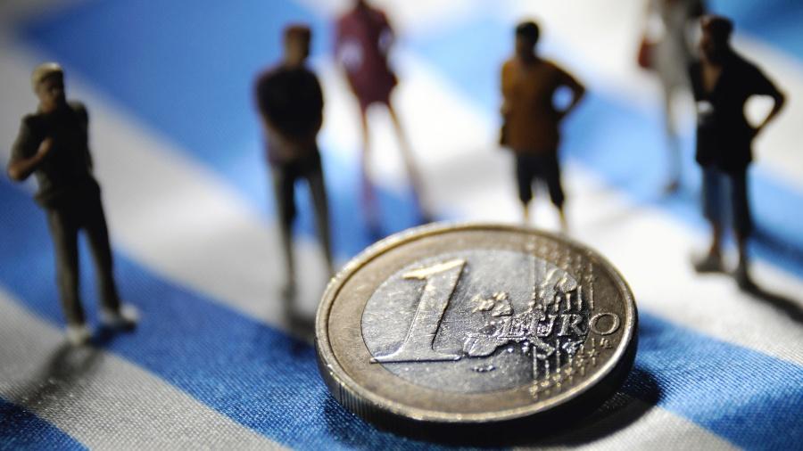 """Lagarde argumentou que o BCE não pode repetir os """"erros do passado""""  - Philippe Huguen/AFP"""