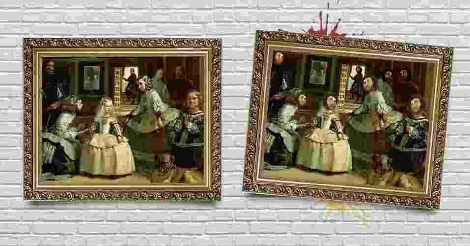 """""""As Meninas"""", de Diego Velázquez - Arte/UOL"""