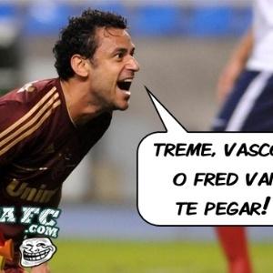Corneta FC: O Fred manda um recadinho para o Vasco