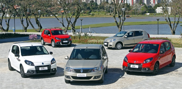 Renault prioriza segurança e passa a oferecer airbag duplo e ABS em quase todas as versões dos modelos - Divulgação