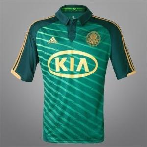 Nova camisa do terceiro uniforme do Palmeiras - frente