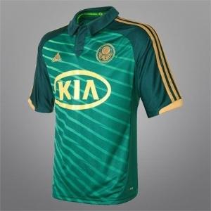 Nova camisa do terceiro uniforme do Palmeiras - lado