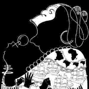 Também vencedor da categoria Menção Caricatura, o brasileiro Glen Batoca fez referências às cantoras da música negra no 39º Salão do Humor de Piracicaba - Divulgação