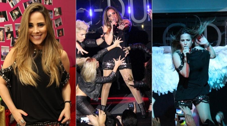 A cantora Wanessa se apresentou em uma boate em Piracicaba, são Paulo (25/8/12)